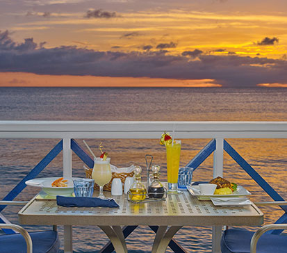 Barbados Sunset View