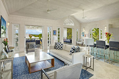 Barbados Villa Sitting Room
